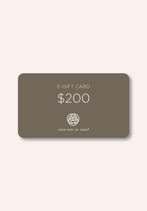 Электронный подарочный сертификат на $200