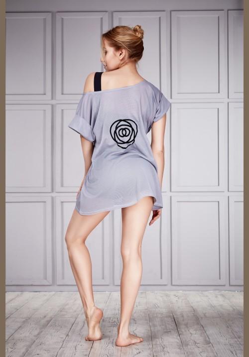 Платье-сетка для йоги и фитнеса #091